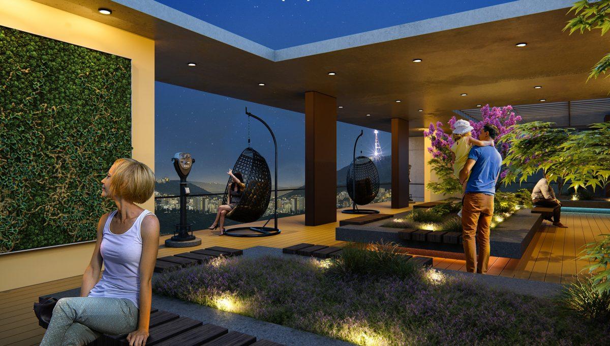 საერთო სარგებლობის მწვანე სახურავი iBuild
