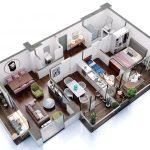 შეიძინე 100 მ2 სახლი უპროცენტო განვადებით - #13 ბინა iBuild