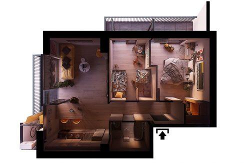 შეიძინე 3 ოთახიანი ბინა განვადებით თბილისში - iBuild